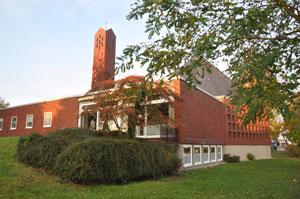 Triangelis Gustav-Adolf-Kirche Kiedrich